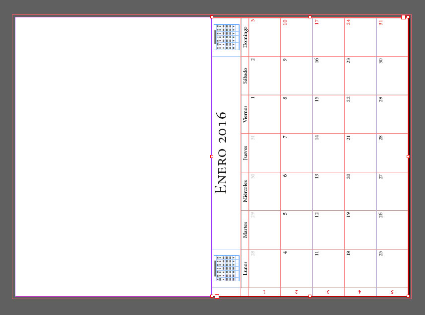 escalar calendario con calendar wizard