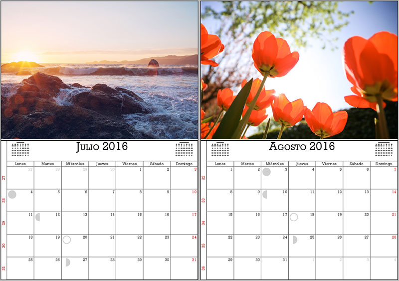 muestra de calendarios 2016