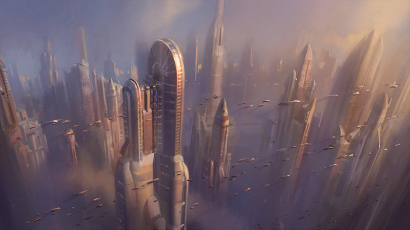 star wars city concept art