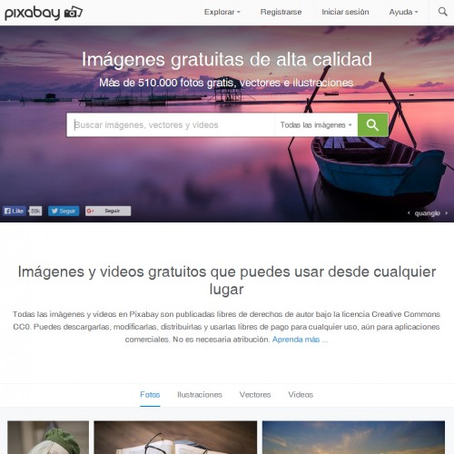 fotos HD en Pixabay