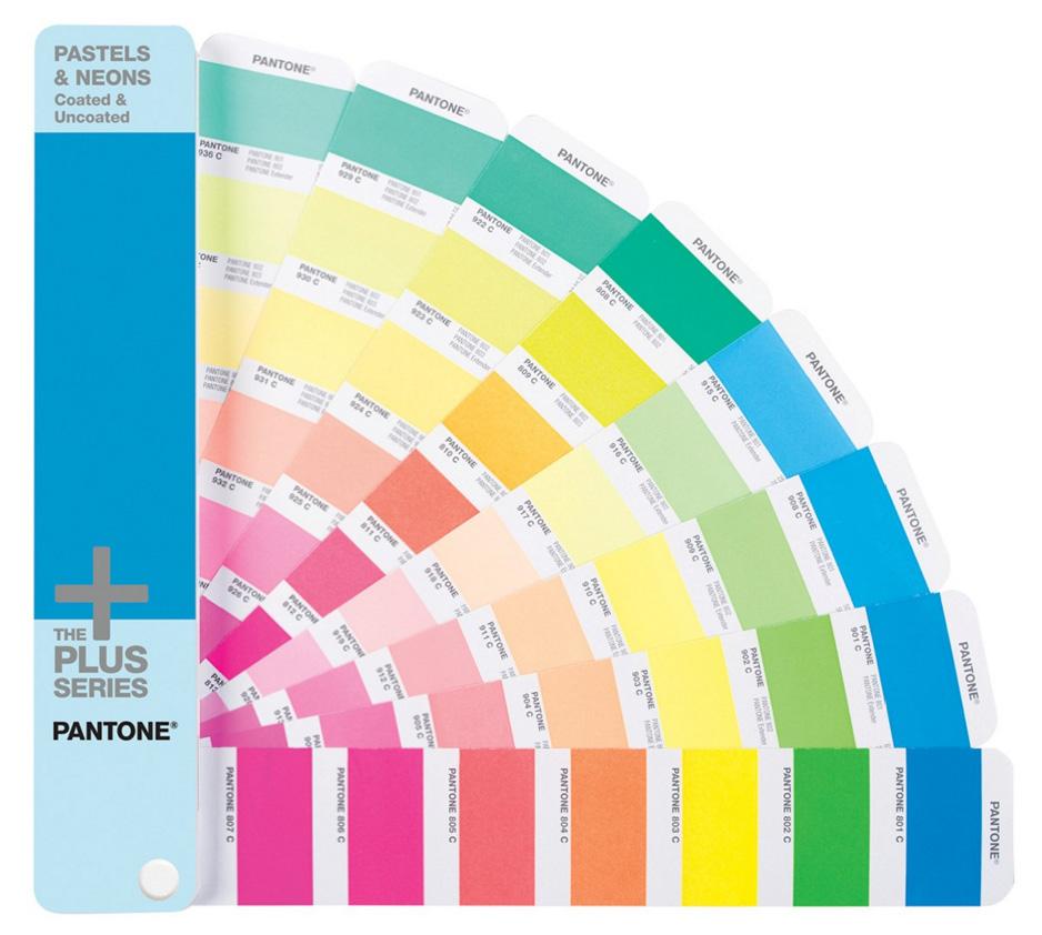 Cartas de colores Pantone PASTELS & NEONS Coated & Uncoated
