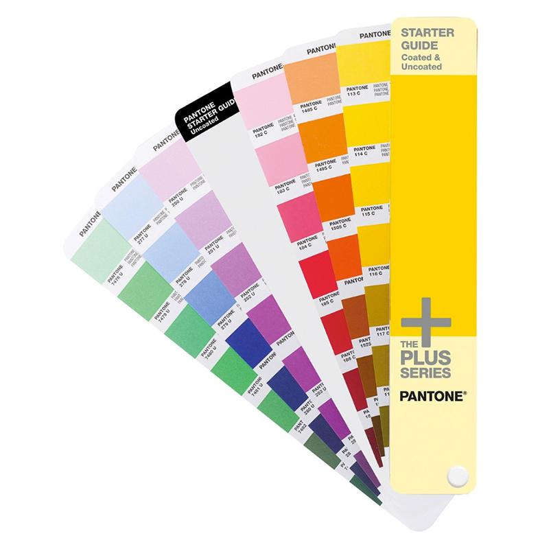Cartas de colores Pantone Starter Guide