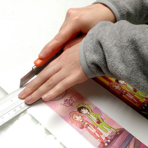 Día del Libro y la Rosa cortar marcapáginas
