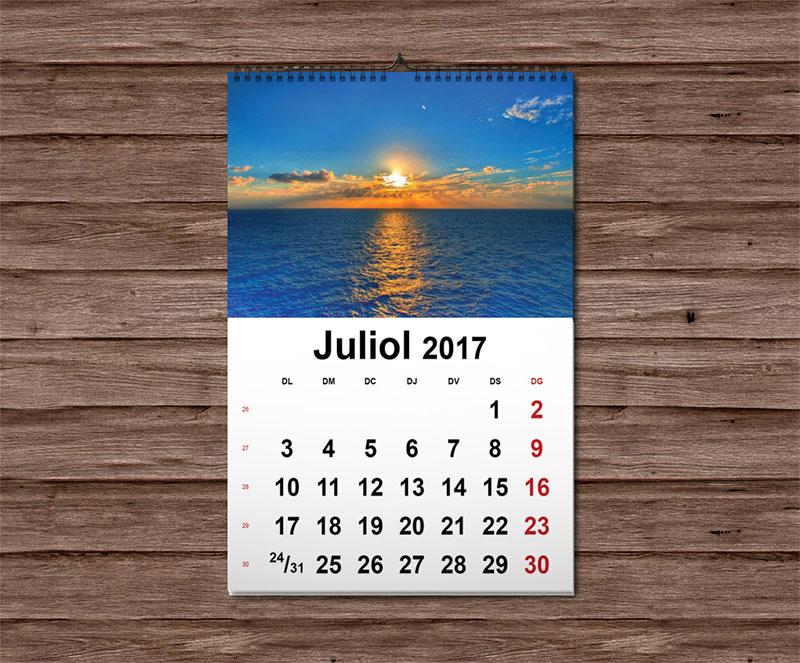 calendari de paret 2017