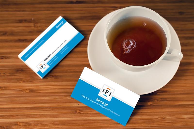 tarjetas de visita para promocionar una web