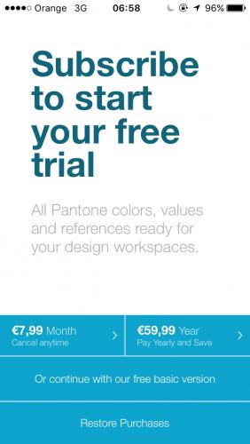 Pantone Studio App - Crea colecciones de cartas de color