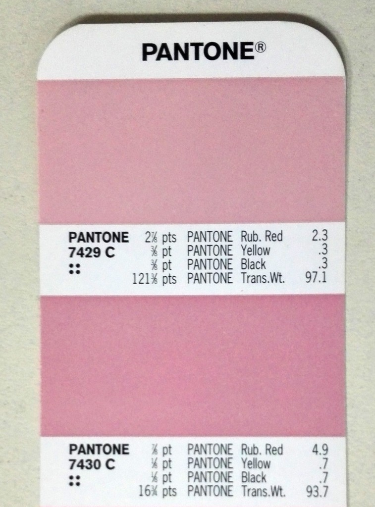 carta de colores Pantone Formula Guide