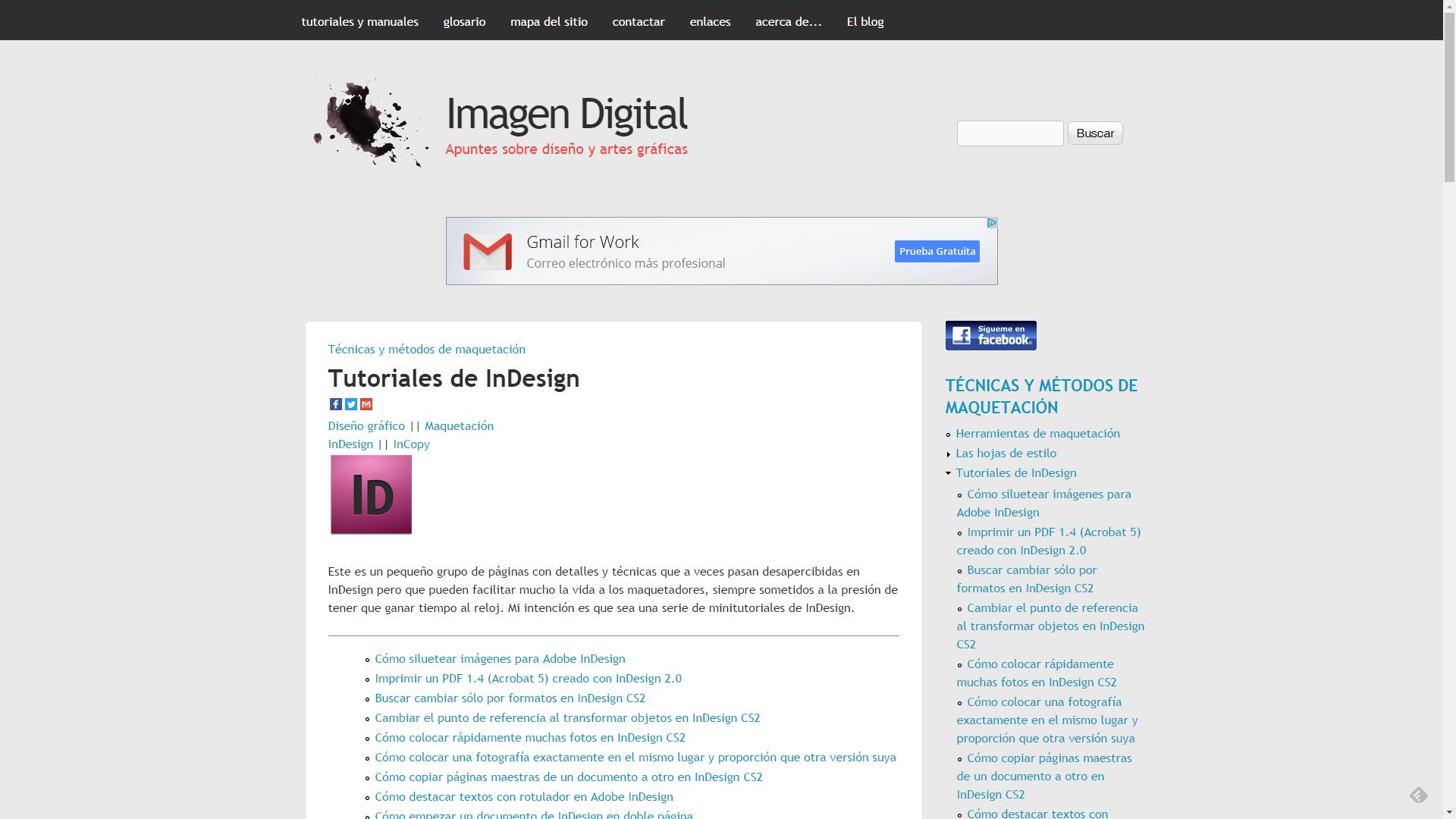 Imagen Digital InDesign
