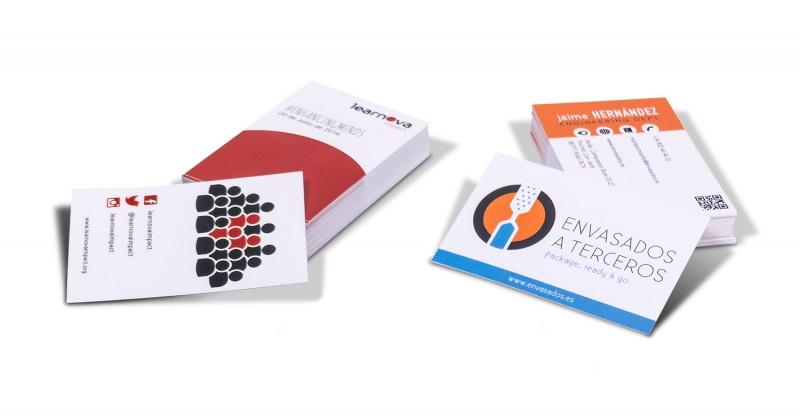 ejemplos de tarjetas de empresa