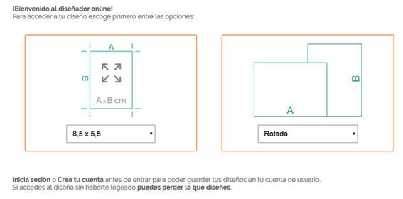 diseñar tarjetas de visita online