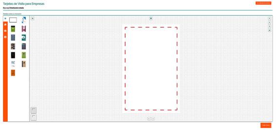 diseñador online de tarjetas de visita