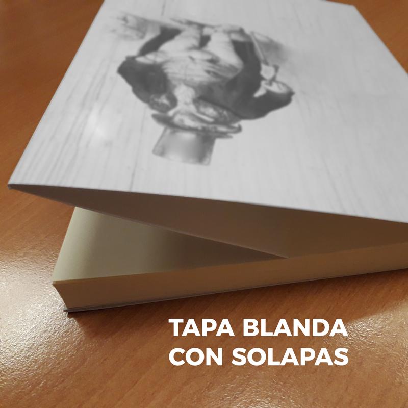 Portada Tapa Blanda Solapas