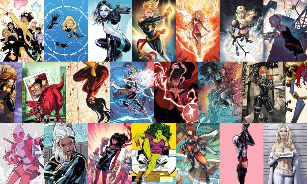 36 Heroínas Y Superheroínas Marvel Más Poderosas Y Famosas
