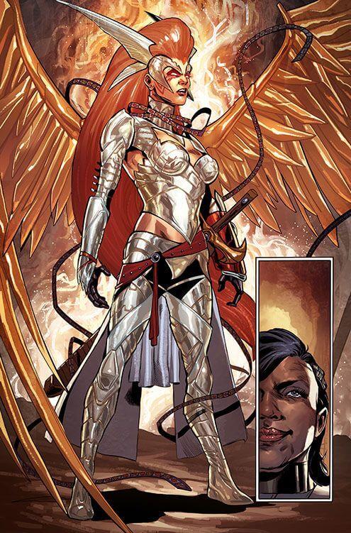 Superheroinas Marvel Angela