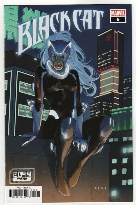 Superheroinas Marvel Black Cat