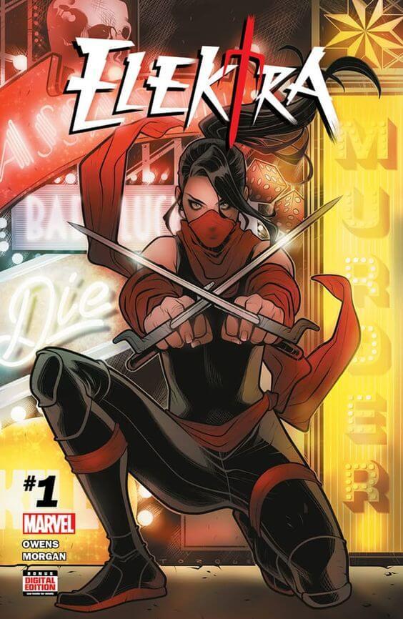 Superheroinas Marvel Elektra