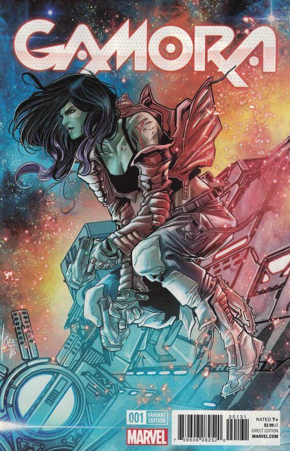 Superheroinas Marvel Gamora1