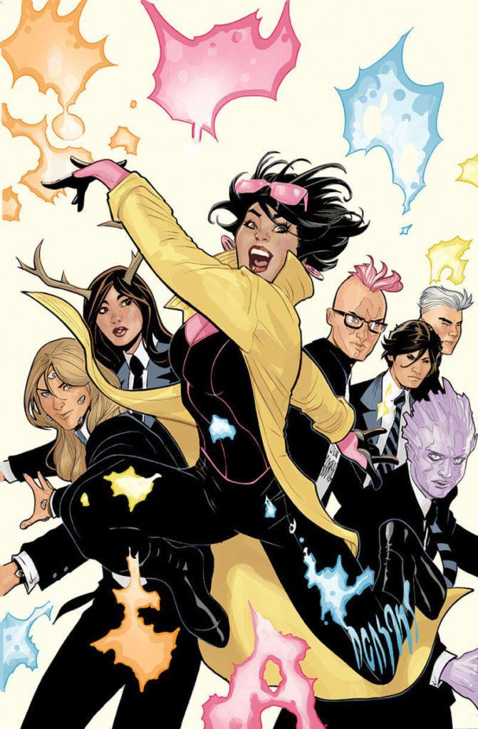 Superheroinas Marvel Jubilee