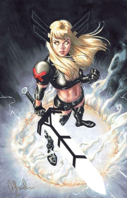 Superheroinas Marvel Magik