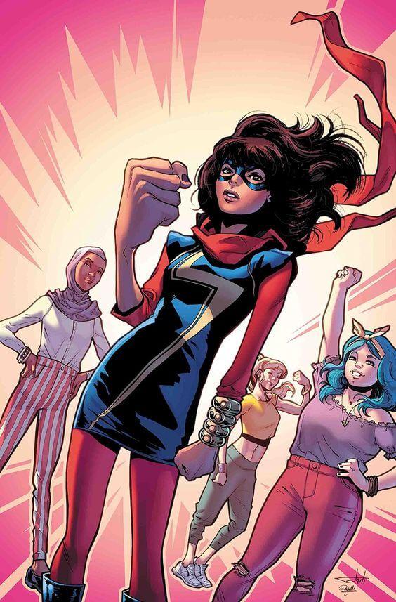 Superheroinas Marvel Ms Marvel Kamala