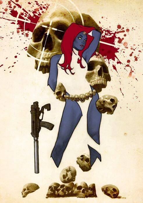 Superheroinas Marvel Mystique
