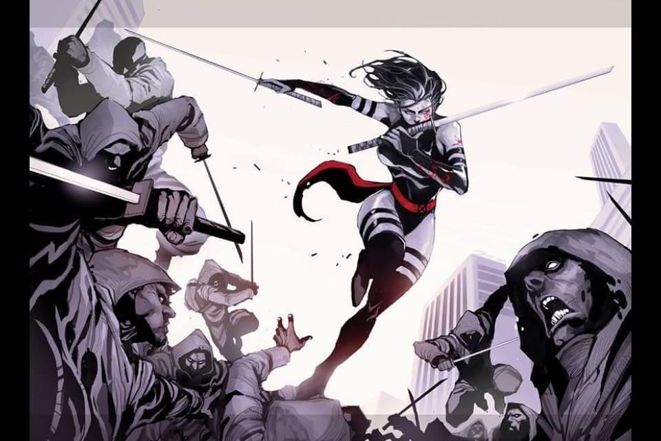 Superheroinas Marvel Psylocke
