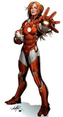 Superheroinas Marvel Rescue Pepper