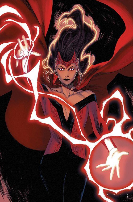 Superheroinas Marvel Scarletwhitch