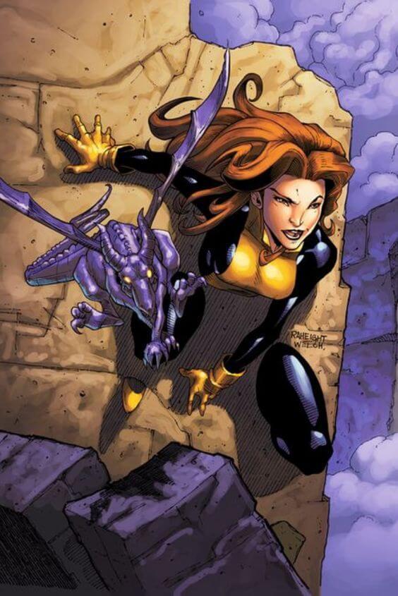 Superheroinas Marvel Shadowcat