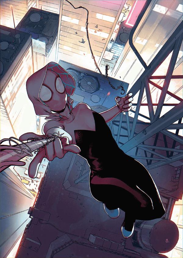 Superheroinas Marvel Spidergwen