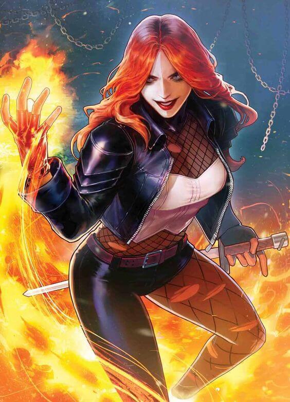 Superheroinas Marvel Typhoid Mary