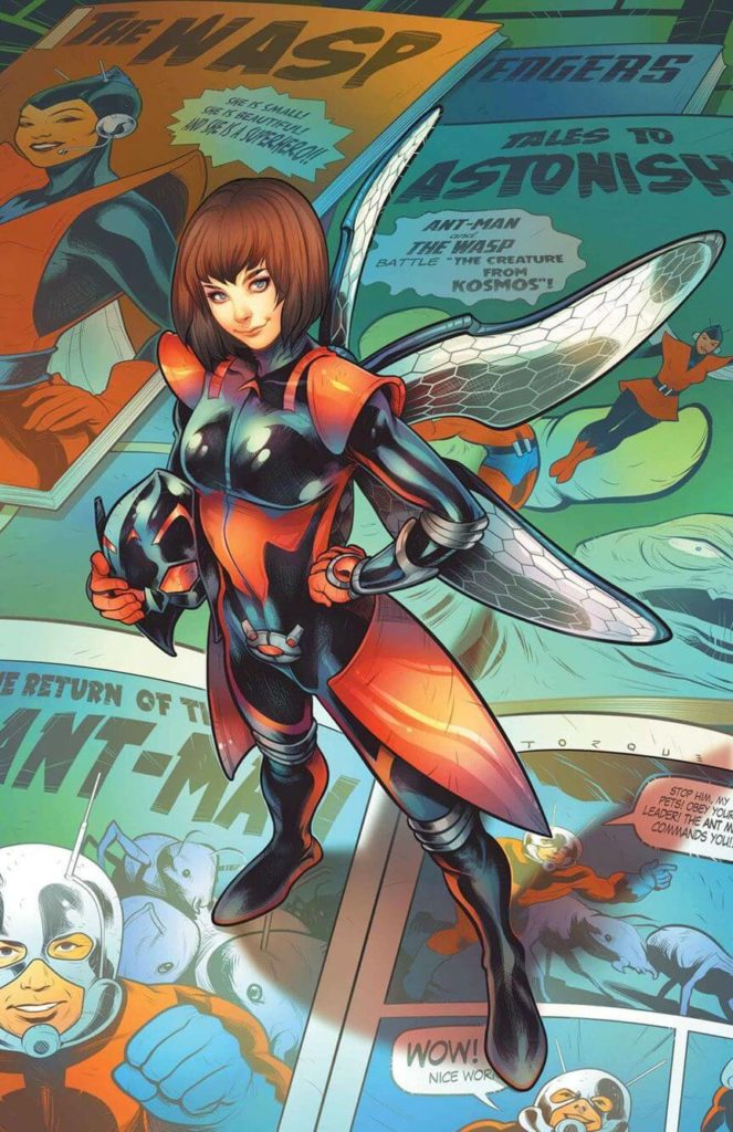 Superheroinas Marvel Wasp