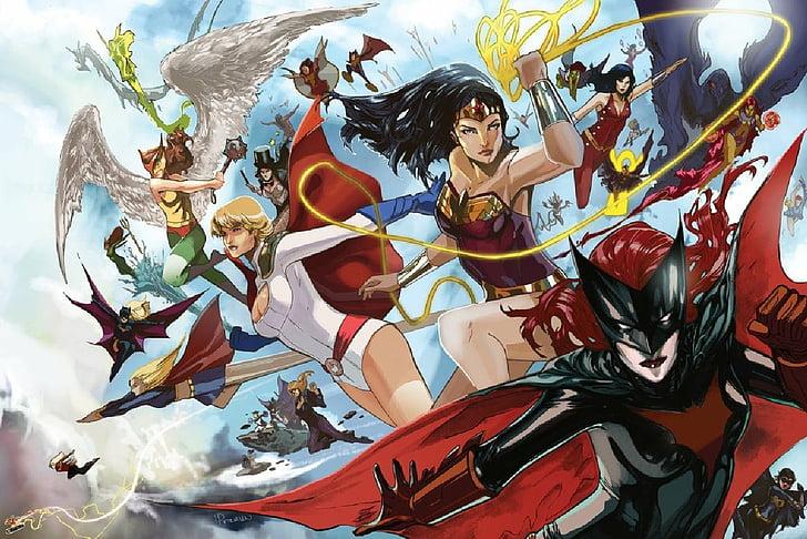 Superheroínas y Supervillanas del Universo DC