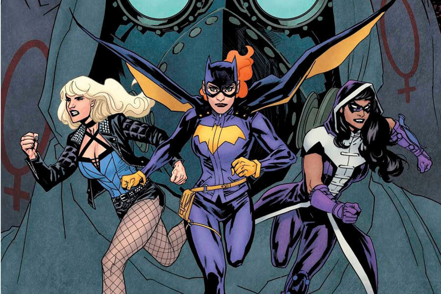 Universo Dc Batgirl Birds Prey Portada