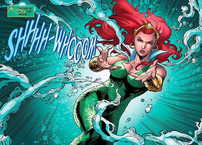 Universo Dc Mera Aquaman