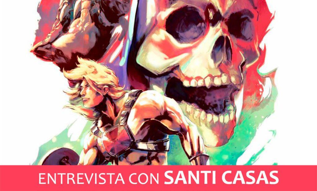 Entrevista con Santi Casas