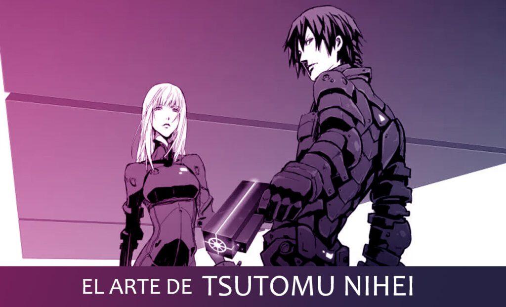 Tsutomu Nihei es un autor de manga que reinventa el género de cyberpunk