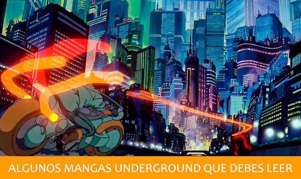 Mangas Underground que debes leer