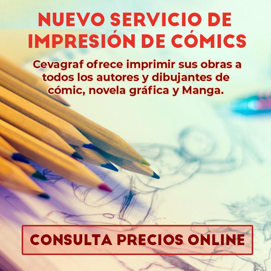 Imprimir cómics en Cevagraf