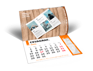 Imprimir Calendaris revista a mida