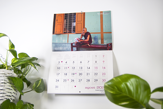 Print Saddle Stitch Calendars