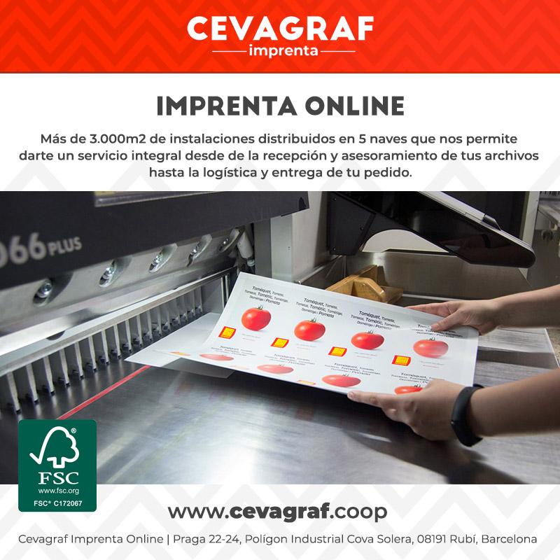 Imprenta Online - Impresión Digital y Offset【Cevagraf ®】