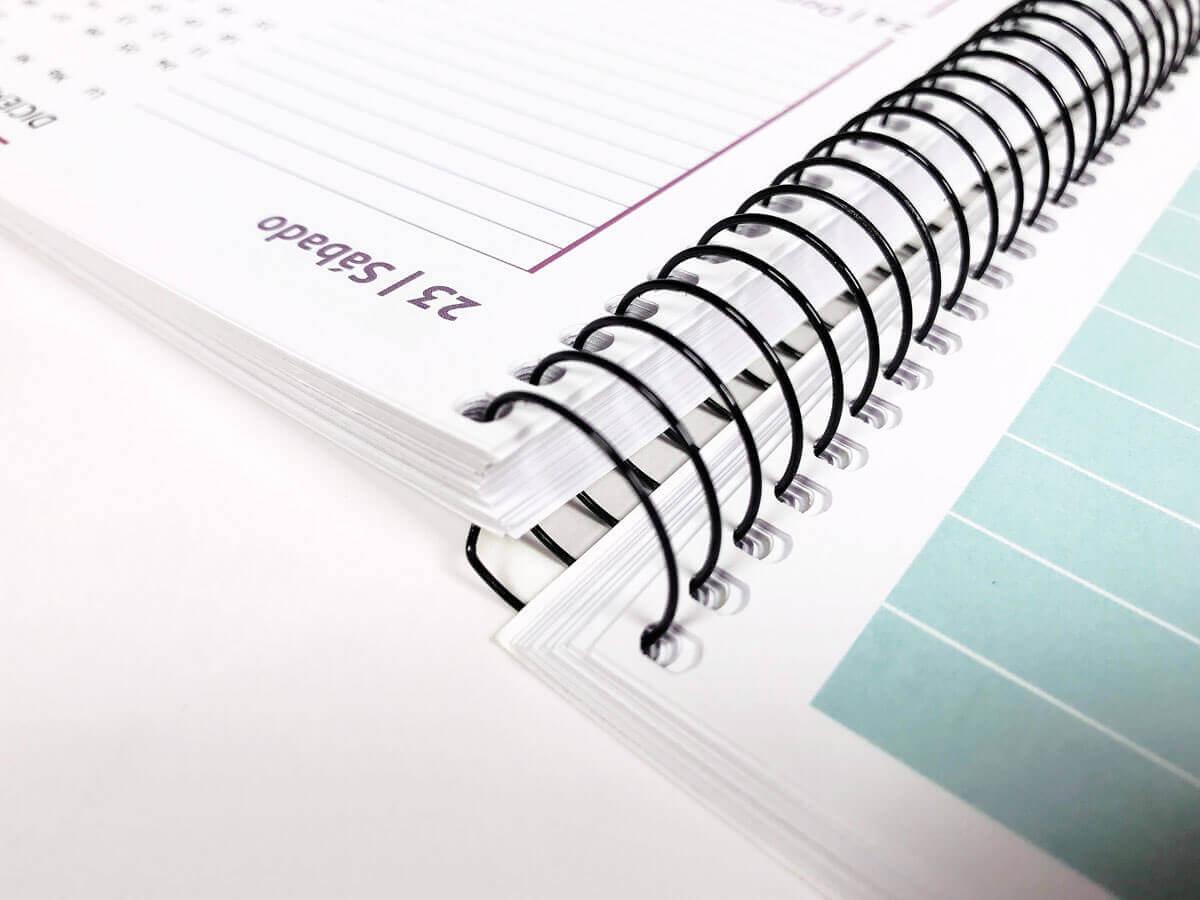 merchandising para empresas con agendas personalizadas