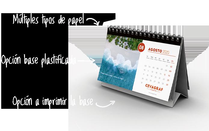 Mini Calendario 2019 Para Imprimir Grande.Imprimir Calendario Personalizado Especialistas Impresion