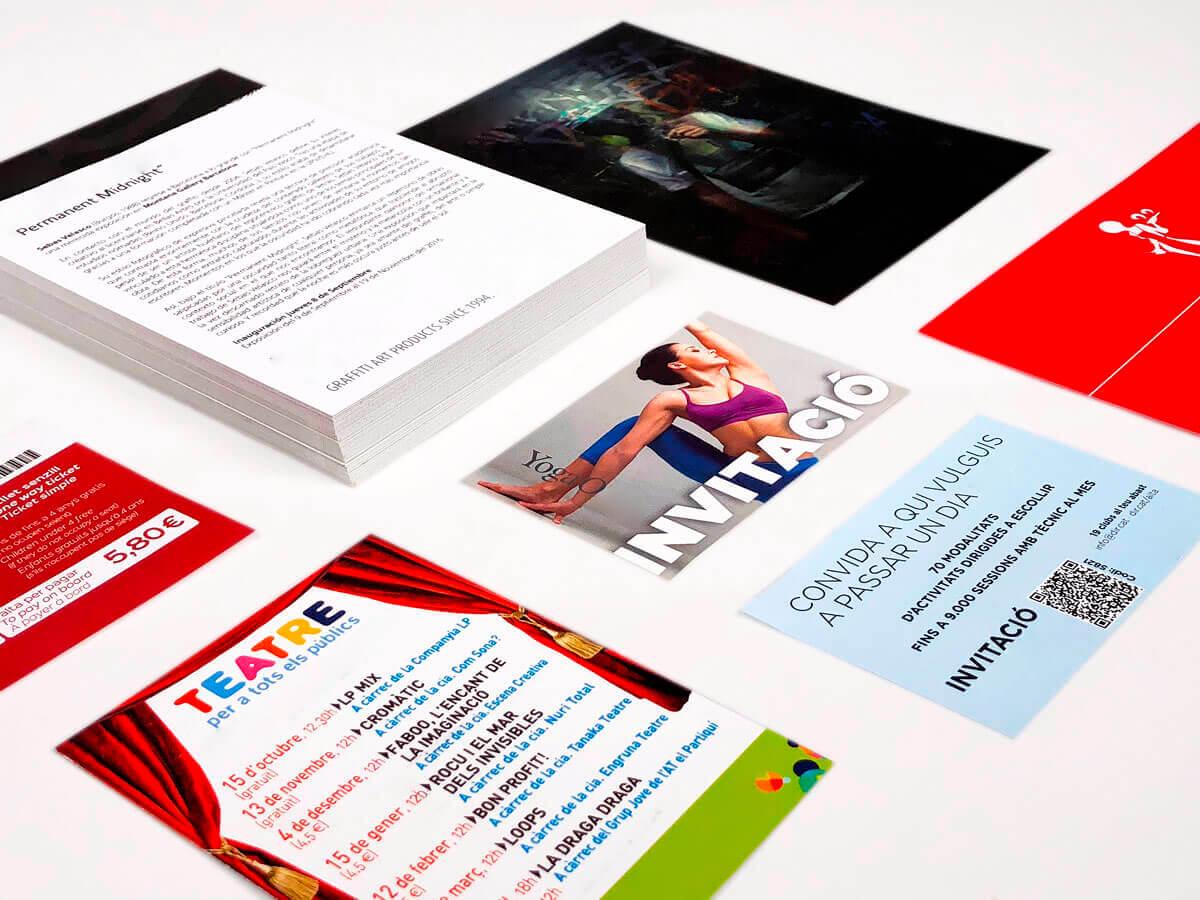 Imprimimos Tus Tarjetas De Invitación Para Eventos A Gran