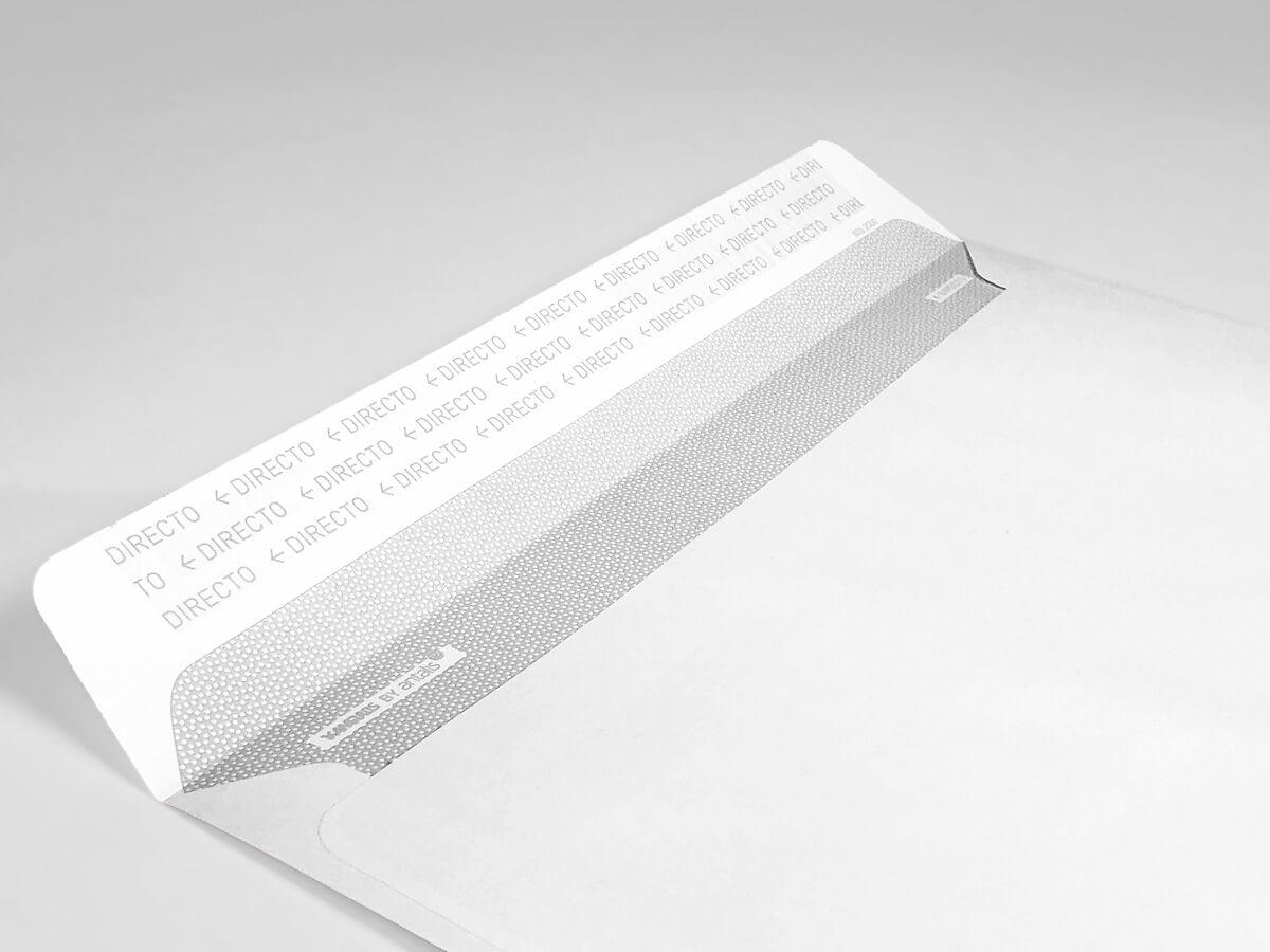 Tamaños de papel DIN C para sobres