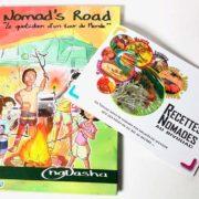 Bande-Dessinée et un Carnet de Recettes du Nomad's Road