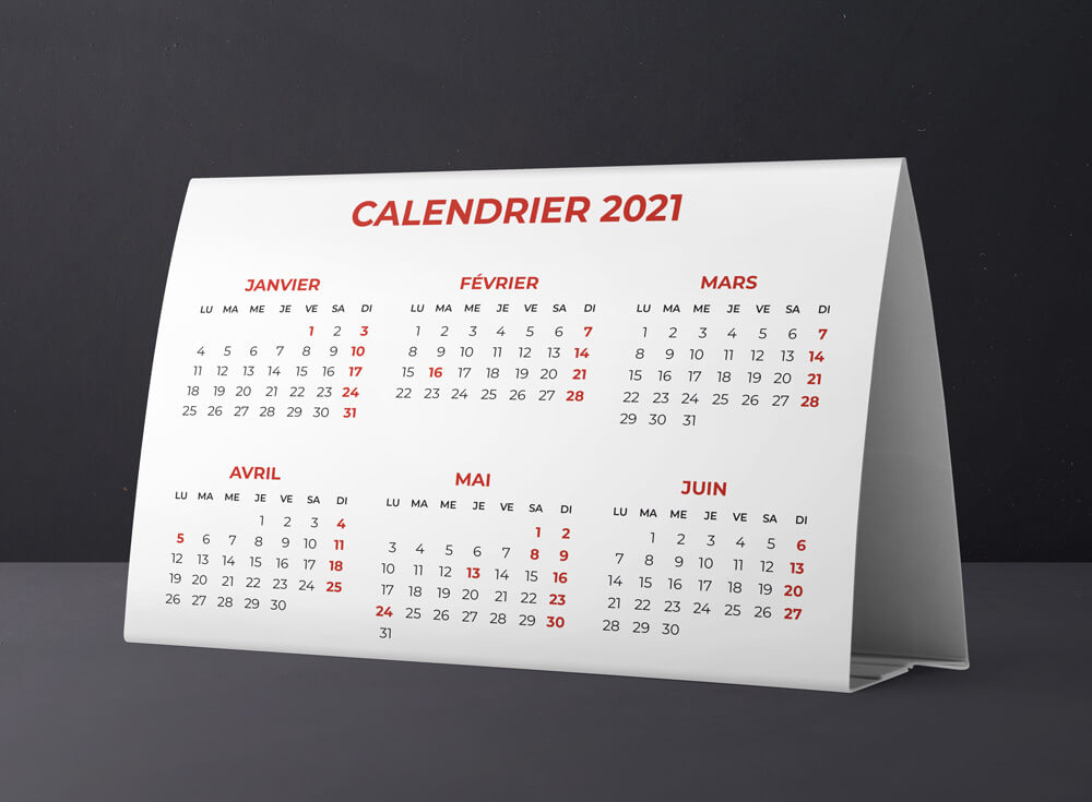 calendrier triangulaire